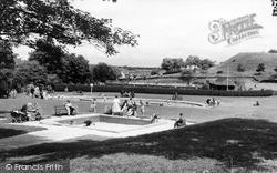 Morpeth, The Park c.1960