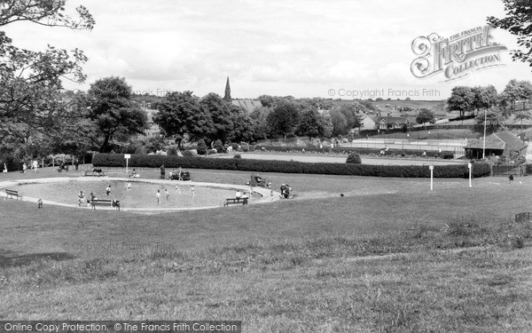 Photo of Morpeth, The Park c.1960