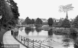 Morpeth, The River Wansbeck c.1955