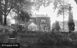 Morriston, Hospital, The Doctors House c.1955