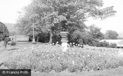 Morriston, Hospital, The Gardens c.1955