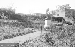 Morriston, Hospital, The Rose Gardens c.1955