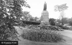 Morriston, Park, The Memorial c.1955