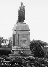 Morriston, Park, the War Memorial c1955