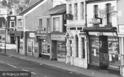 Shops At The Cross Roads c.1965, Morriston
