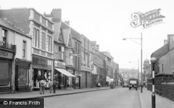 Morriston, Woodfield Road c.1955