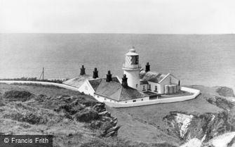 Mortehoe, Bull Point Lighthouse c1955