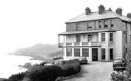 Mortehoe, Castle Rock Hotel c1955