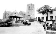 Mortehoe, the Church of St Mary Magdalene 1935
