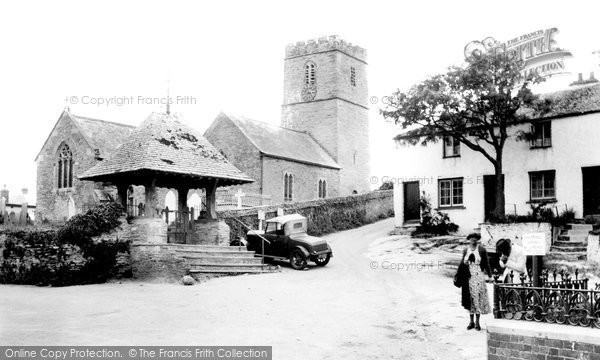 Photo of Mortehoe, the Church of St Mary Magdalene 1935, ref. 87130