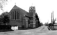 Mortimer Common, St John's Church c1955