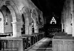 Morwenstow, Church Interior 1910