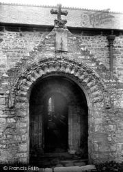 Morwenstow, Church Norman Door 1910