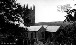Morwenstow, Church Of St Morwenna And St John c.1955