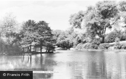The Lake, Chantry Park c.1965, Moseley