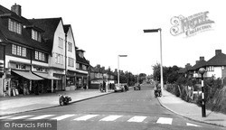 Mottingham, Court Road c.1960