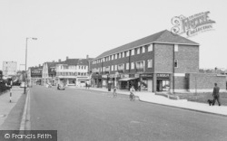 Mottingham, High Street c.1960