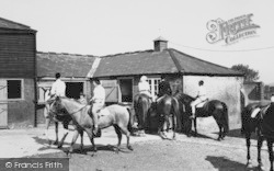 Mottingham, Mottingham Farm Riding School c.1965
