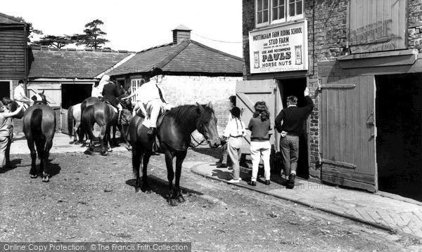 Mottingham, Mottingham Farm Riding School c1965