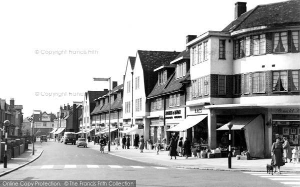 Mottingham, Mottingham Road c1960