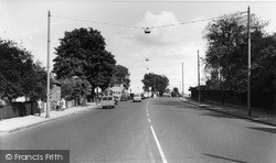 Mottingham, Sidcup Road c.1960