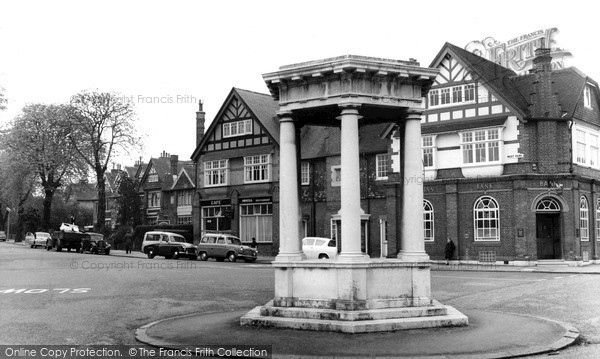 Mottingham, the Memorial c1960