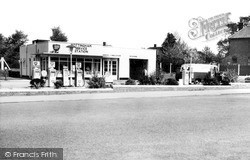 Mottingham, The Service Station c.1960