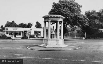 Mottingham, the War Memorial c1965
