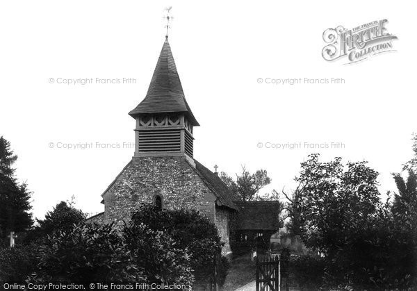 Photo of Moulsford, Church Of St John The Baptist 1890