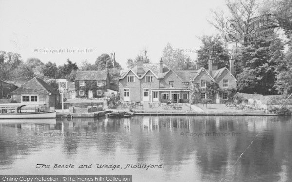 Photo of Moulsford, The Beetle And Wedge c.1955