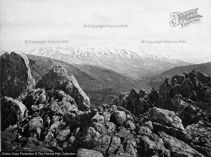 Photo of Mount Hermon, The Mount Of Transfiguration c.1868