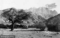 Mount Serbal, From The Wadee Feyran, Sinai 1858