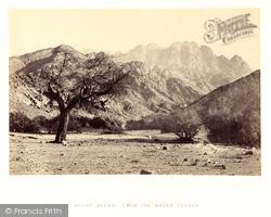 Mount Serbal, From The Wadee Feyran, Sinai 1858