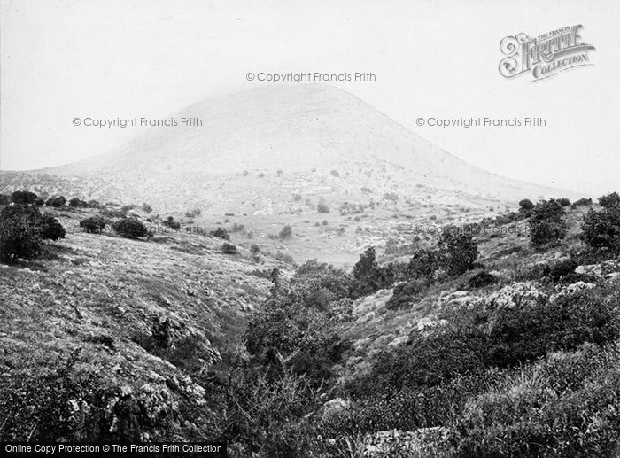 Photo of Mount Tabor, Where Deborah And Barak Assembled Forces c.1867