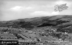 General View From Llanwonno Road c.1960, Mountain Ash