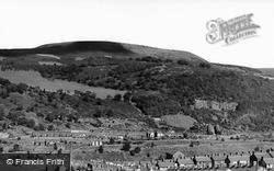 Newtown And Miskin From Darranlas c.1960, Mountain Ash