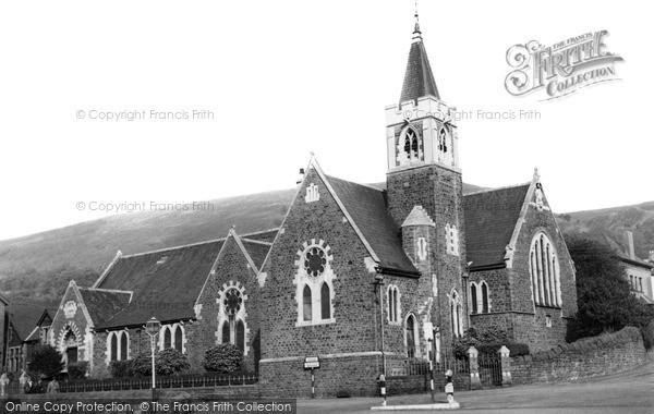 Photo of Mountain Ash, St Margaret's Church c.1955