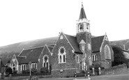 Mountain Ash, St Margarets Church c1955