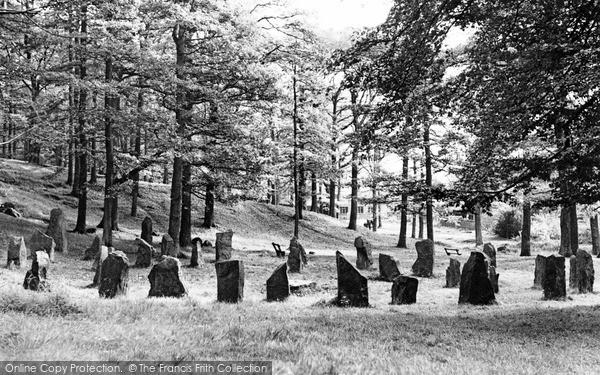 Photo of Mountain Ash, The Gorsedd Circle c.1955