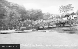 Mountain Ash, The Hospital From Bowling Green c.1960