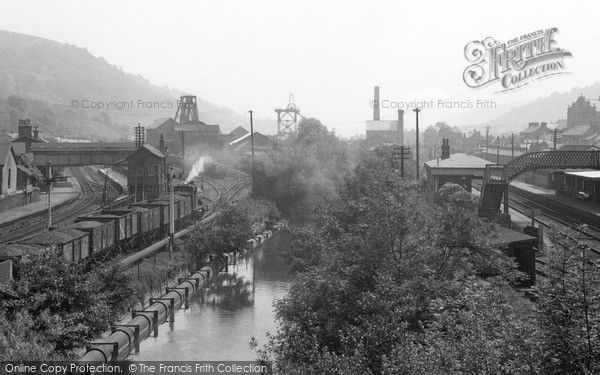 Photo of Mountain Ash, The Station 1953