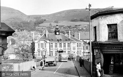 Mountain Ash, Town Hall And Bridge 1950