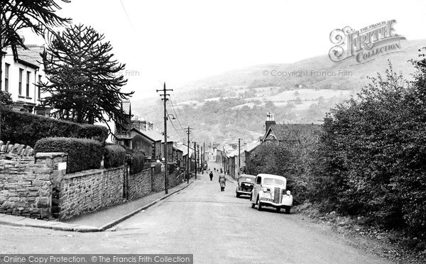 Photo of Mountain Ash, View From Royal Oak c.1955