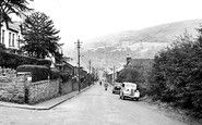 Mountain Ash, view from Royal Oak c1955