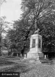 Mountain Ash, War Memorial 1938