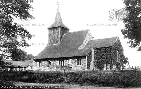 Mountnessing, Church 1906.  (Neg. 54471)  © Copyright The Francis Frith Collection 2005. http://www.francisfrith.com
