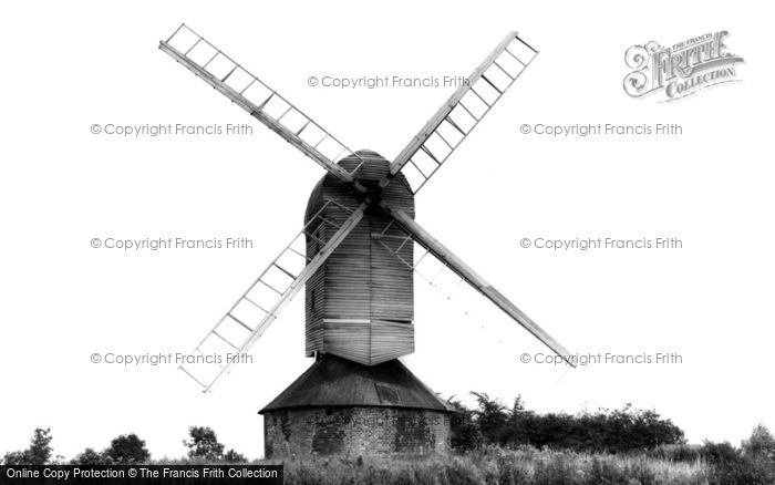 ,Mountnessing, the Windmill c1960, Essex,