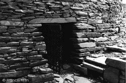 Mousa, Entrance To The Broch 1954