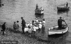 Mousehole, Boat Trip 1927