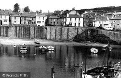 East End From Pier c.1955, Mousehole